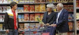 momo - courses dans le supermarché
